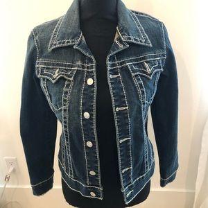 True Religion Jean Jacket Size M